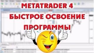 Настройка форекс-терминала MetaTrader4. Быстрое знакомство с программой.