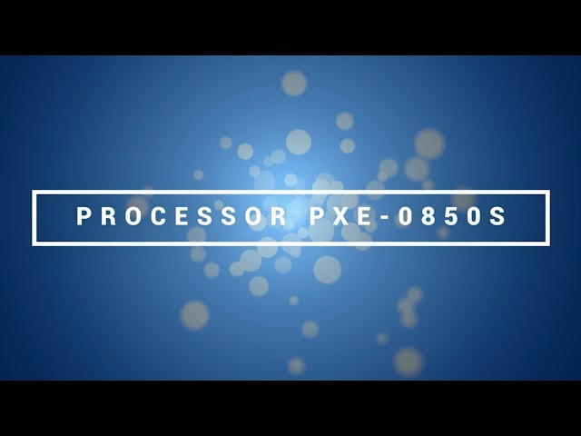 Alpine | CES 2018 | Wireless Digital Processor PXE-0850S