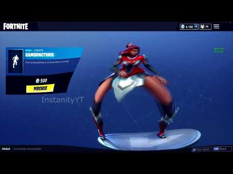 FORTNITE RAMBUNCTIOUS DANCE EMOTE BASS BOOSTED