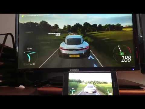 Latency Test || Nvidia Gamestream + Moonlight On Android  || Forza Horizon 4