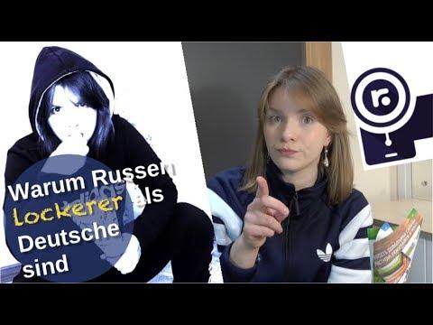Warum Russen lockerer als Deutsche sind!