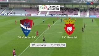 Resumo Gil Vicente FC - FC  Penafiel