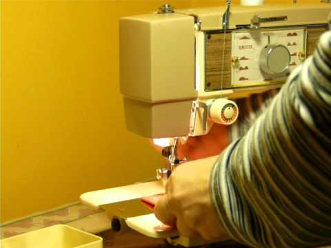 NIFTYTHRIFTYGIRL VINTAGE ELECTRO GRAND SEWING MACHINE MODEL 40 Magnificent Electro Hygiene Sewing Machine