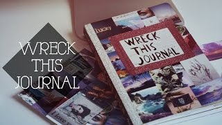 Wreck This Journal // УНИЧТОЖЬ МЕНЯ // Украшаем Обложку WTJ + GIVEAWAY