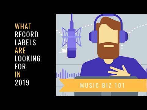 How To Get a Record Deal in 2019