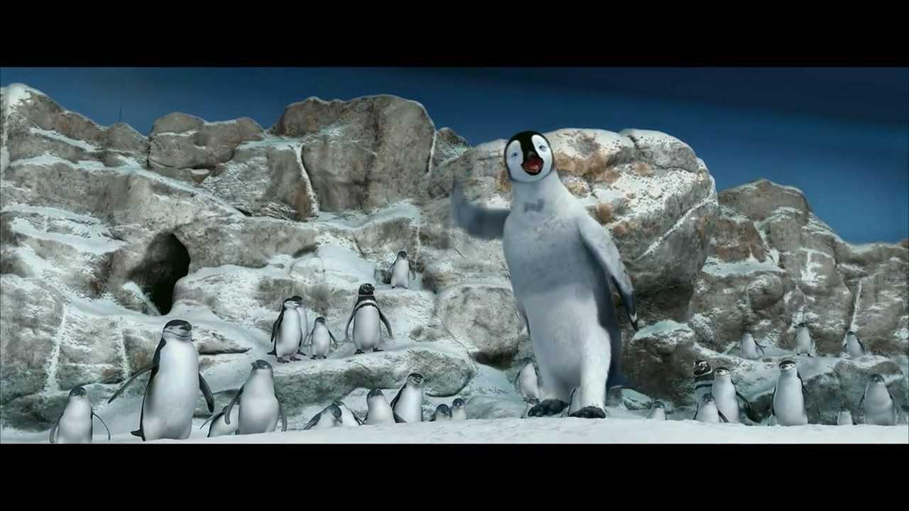 Zoo Penguin 1 Voice - Happy Feet (Movie) | Behind The ... |Happy Feet Zoo Aquarium