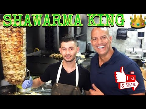 SHAWARMA KING 👑 Best Chicken SHAWARMA In America . Syrian SHAWURMA Recipe 😋 شاورما
