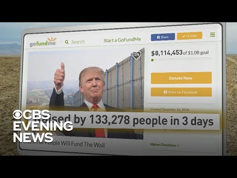 Dana McKenzie - GoFundMe Account Taking Donations For The Wall Is Racking Up Big Money