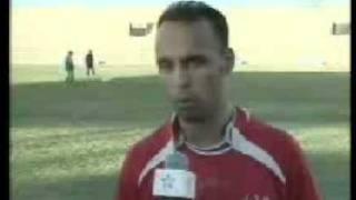 Shabab al Massira footbal team of Laayoune western Sahara Morocco