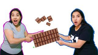 Kardeşim Çikolataların Hepsini Yedi Seval ve İkizi  يريدوا نفس الشوكولاته