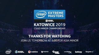 L VE Renegades Vs ViCi Gaming    EM Katowice Asia Minor 2019   Day 3