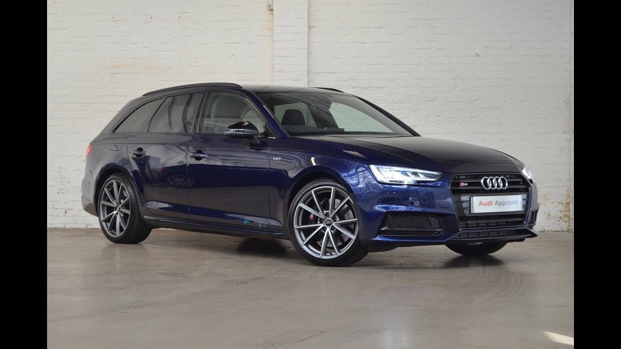 rk67zvp audi s4 avant tfsi quattro navarre blue 2017. Black Bedroom Furniture Sets. Home Design Ideas
