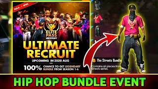 ELITE PASS ULTIMATE RECRUIT EVENT FREE FIRE ✔️ PRG GAMERS