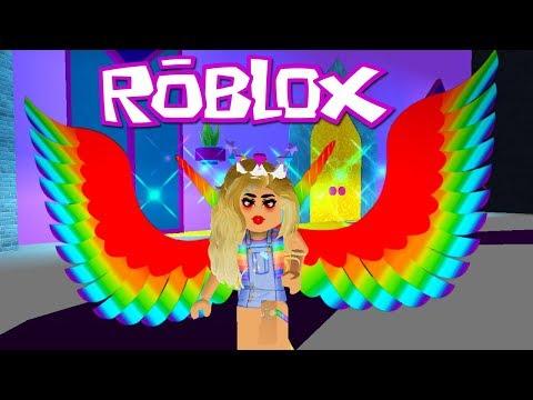 Rainbow Princess Fairy! 👑 New Lobby! 👑 Royale High School Beta 👑