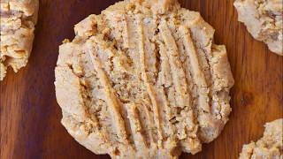 Secret Vegan Peanut Butter Cookies