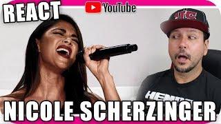 NICOLE SCHERZINGER - Marcio Guerra Reagindo React Reação Opera Pop Rock