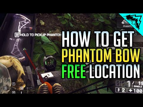 How to Get BF4 Phantom Bow FREE, Location Instant Unlock - Operation Outbreak Map Location
