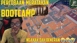 TEST KEKUATAN BOOTCAMP!! MERATAKAN BOOTCAMP ?? SIAPA TAKUT !! // PUBGM INDONESIA