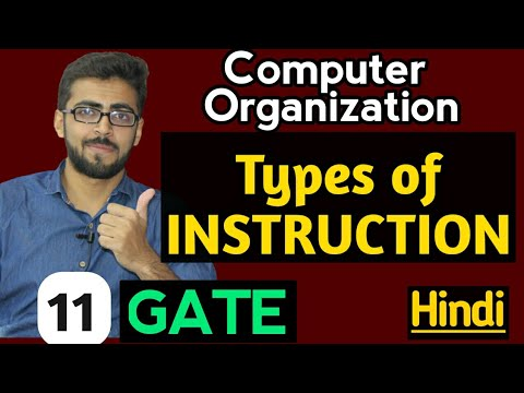 Types of instructions in computer Organization | Data Transfer | Data Manipulation | Program Control