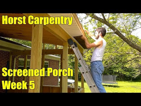 Screened Porch | Week 5