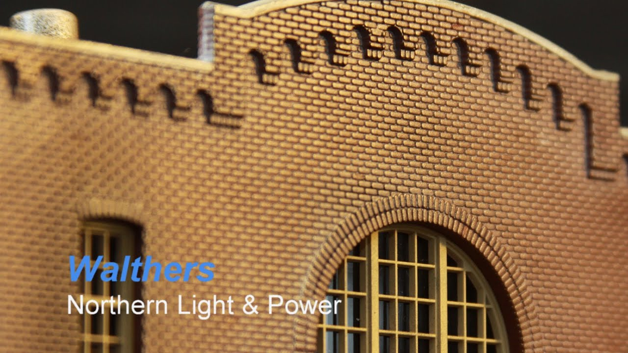Ho Scale Building Construction Northern Light Power Build Painting And Weathering Youtube