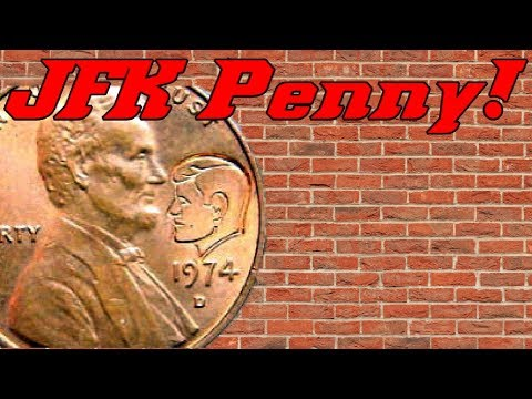 Coin Roll Hunting | JFK Penny!