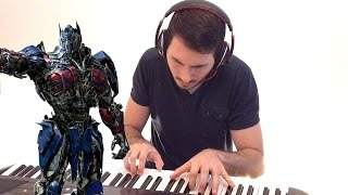 Transformers 5: The Last Knight - Official Trailer #3  (Piano Cover)