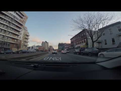 Driving from sunset park brooklyn to downtown brooklyn 12/15/2016