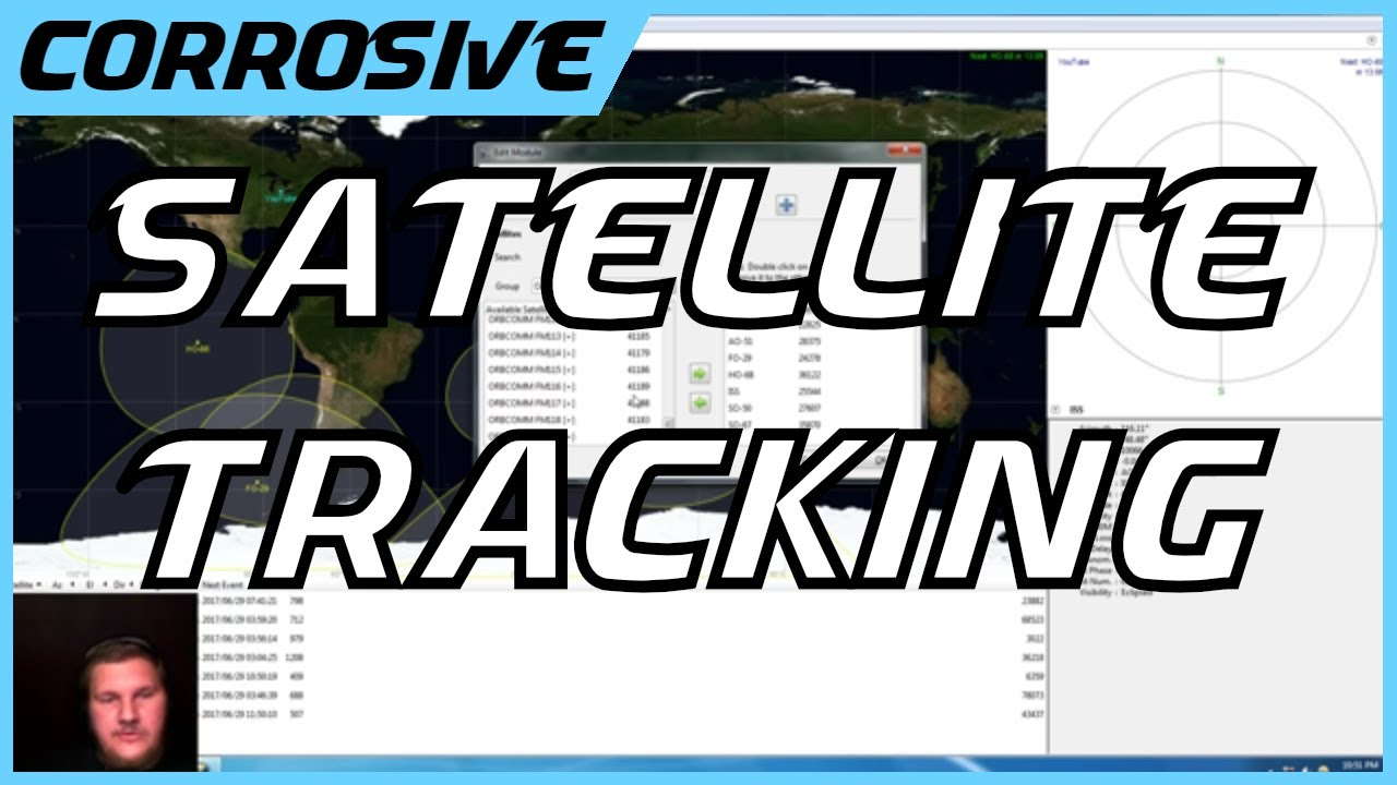 Tracking Satellites with gPredict | ISS AMSAT LEOs and more!