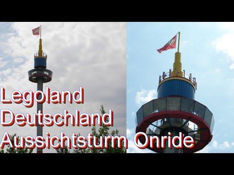 Legoland Deutschland – Aussichtsturm Onride 2017 - Observation Tower | LEGOLAND Günzburg