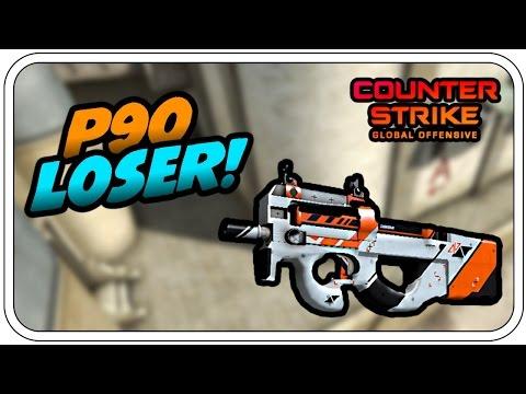 DER P90 LOSER! - Let's Play CS:GO - Dhalucard