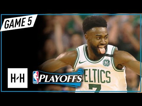 Jaylen Brown Full Game 5 Highlights Vs Cavaliers 2018 Playoffs ECF - 17 Points!