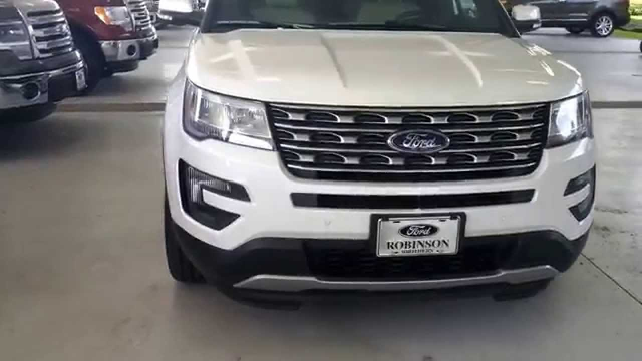 2016 ford explorer new design robinson brothers ford lincoln baton rouge louisiana youtube. Black Bedroom Furniture Sets. Home Design Ideas