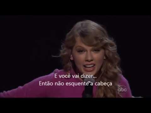 Taylor swift- Ours (Live performance) Legendado