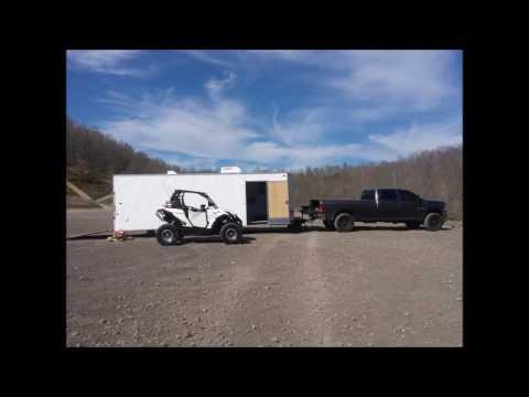 Enclosed trailer to camper conversion