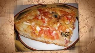Готовим вкусную пиццу. Рецепт пицци. Легко и просто. Приготовь не пожелееш)