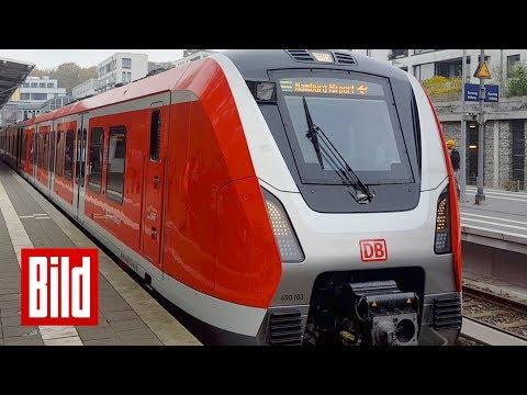 Hamburgs neue S-Bahn - Bis zu 140 km/h / BILD testet den neuen Super-Zug