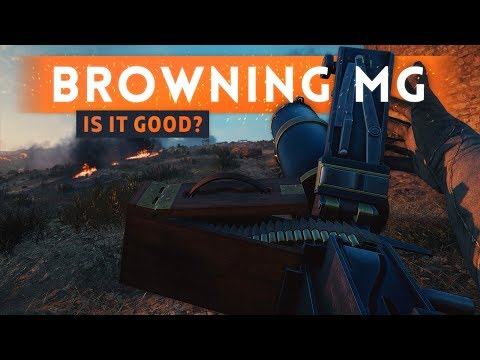 ► M1917 BROWNING MG: IS IT GOOD?! - Battlefield 1 Turning Tides DLC