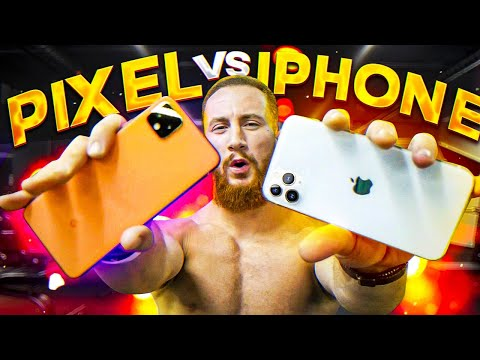 IPhone 11 Vs Pixel 4. Тест фитнес блогера