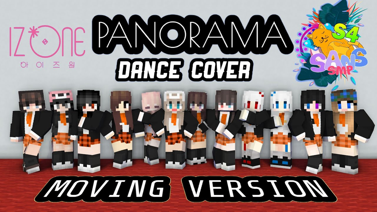 """[Dance Cover] """"PANORAMA"""" (Moving Version) - Minecraft Animation Indonesia"""