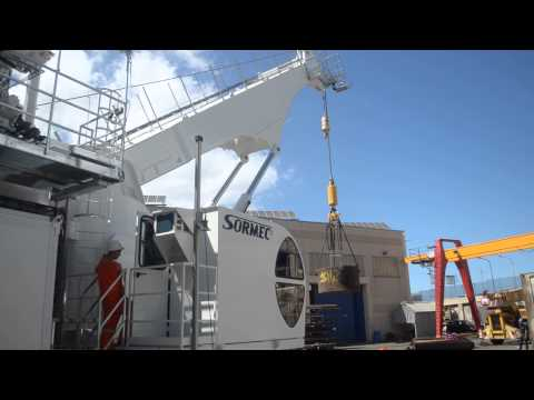 Sormec Subsea AHC Crane M1600/2S Testing
