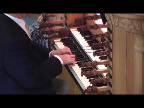 """Aug 7, 2016 Postlude """"If Thou But Trust In God"""""""
