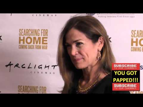 Kim Delaney at The Cast Of Lifetime Television's Army Wives Reunites For Searching For Home Coming B
