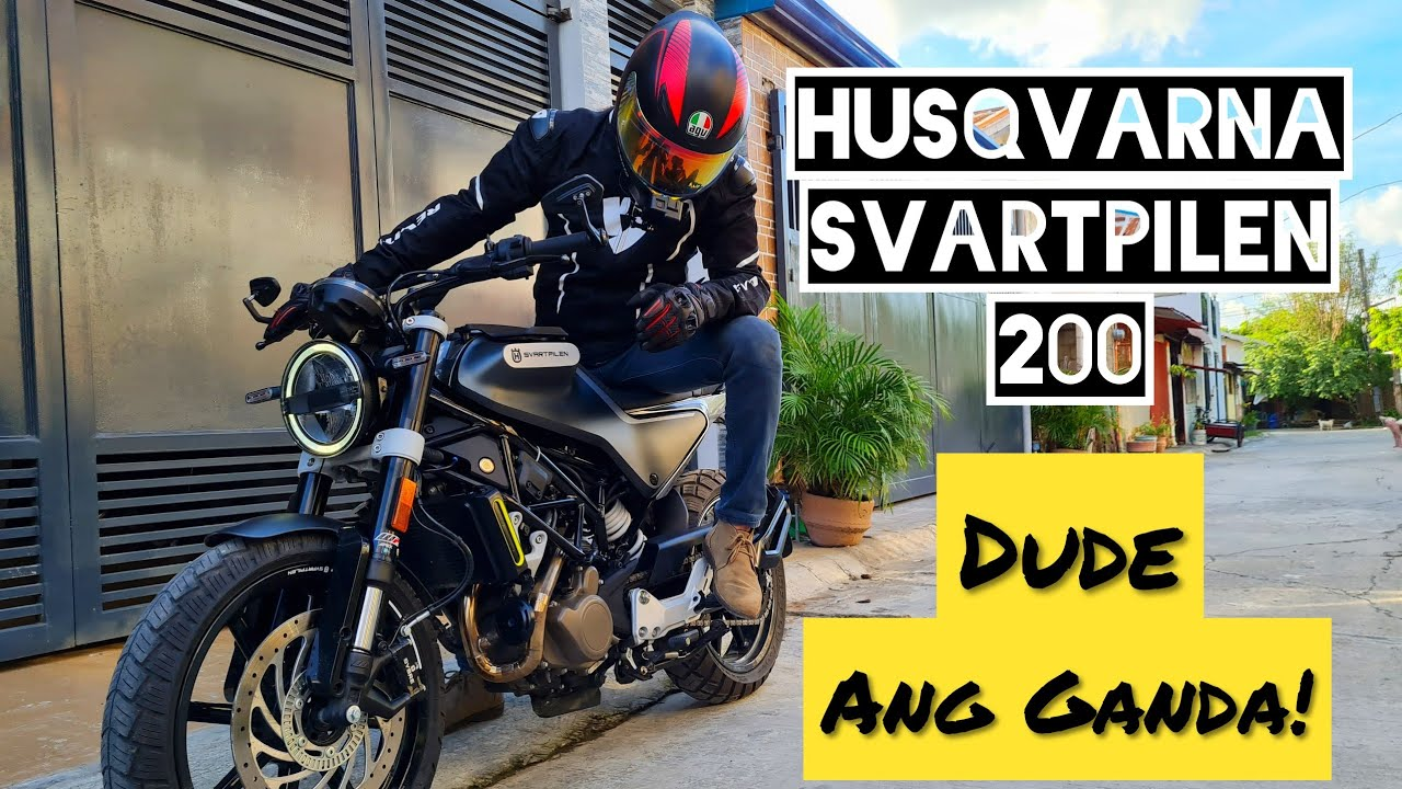 Husqvarna Svartpilen 200 | Full Review, Sound Check, First Ride | Jao Moto