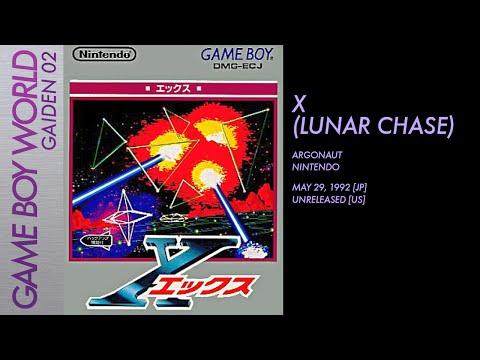 Game Boy World Gaiden #002: X/Lunar Chase [Argonaut/Nintendo, 1992]