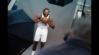 DeAndre Jordan talks about being on the team streaming