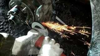 Доработка суппортов УАЗ Патриот для установки стальных внедорожных дисков