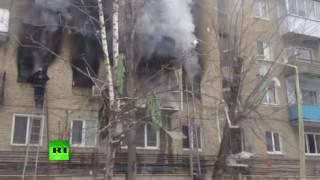 В Саратове в многоквартирном доме произошел взрыв
