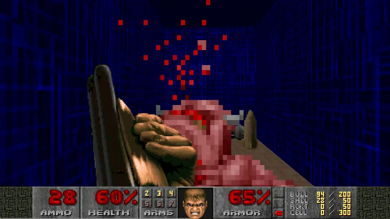 "Doom II: License To Ilya MAP04 ""Water Treatment Plant"" UV-Max in 3:18"