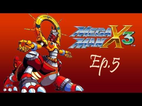 Mega Man x3 Snes Ep5 - EL FIN DE  BIT Y BYTE!!!